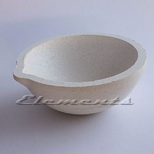 Round Scorifier Bowl Melting Casting Crucible
